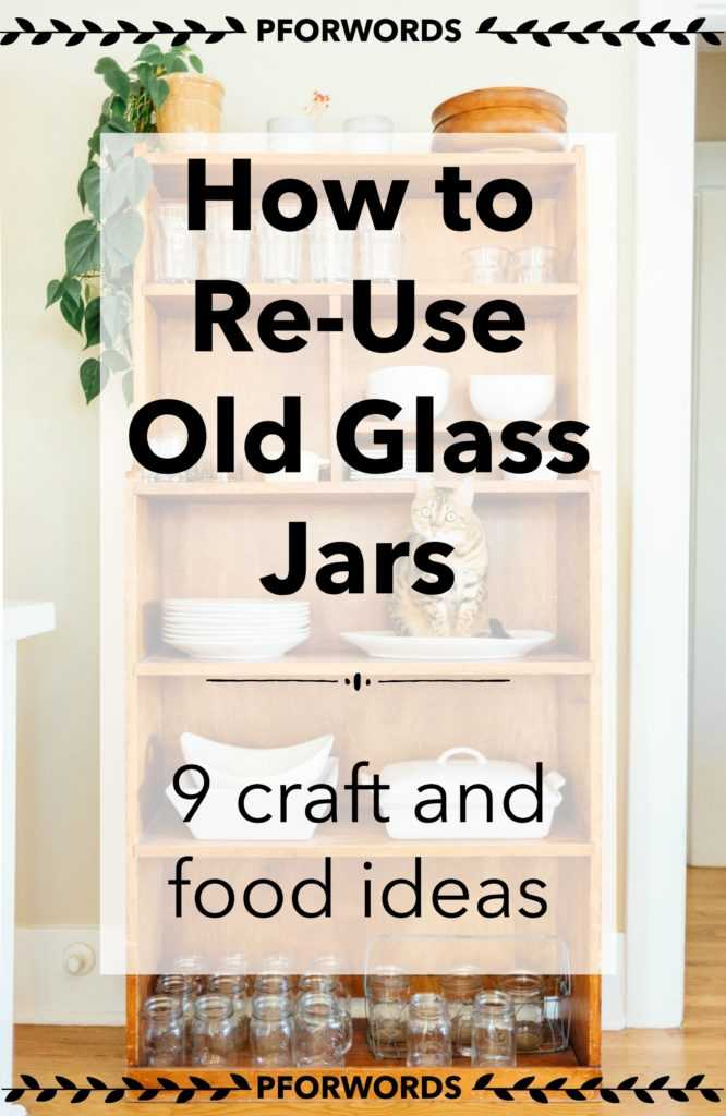 Have a few too many glass jars lying around? From peanut to jelly, jam, and tomato sauce glass jars, most of us toss these into our recycling bins. Check out these 9 ideas to reuse them!