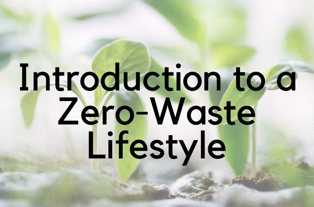 Introduction to a Zero Waste Lifestyle