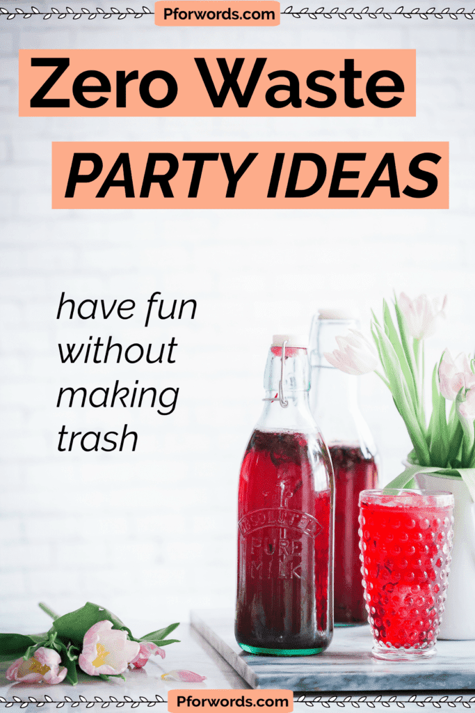 Super easy yet fun party ideas that are zero waste and good for the environment. This list comes in handy when I need to plan girls' night in.