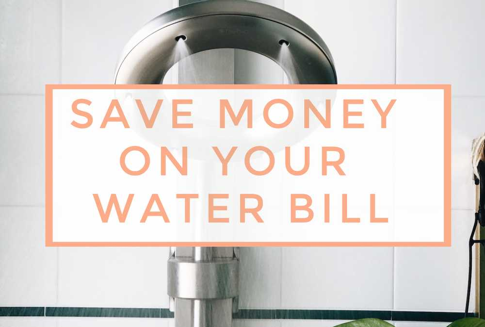 7 Tips to save water and your money