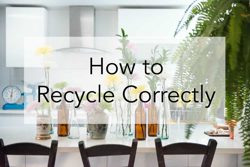 A Comprehensive Guide to Recycling Correctly